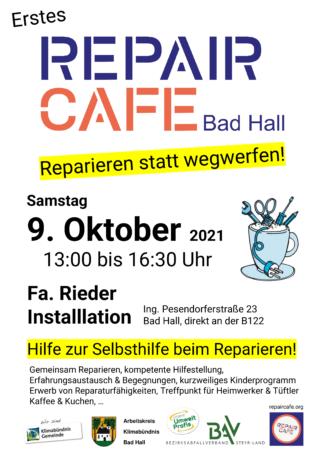 Repair Café Bad Hall - Hilfe zur Selbsthilfe beim Reparieren