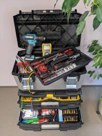 Reparaturkoffer als Hilfe für Repair-Starts!
