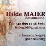 Hilde Maier Restauratorin
