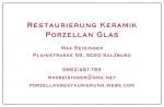 Reparatur und Restaurierung von Keramik, Porzellan und Glas