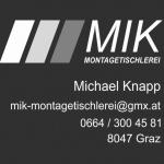 MIK-Montagetischlerei