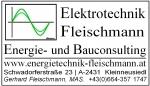 Elektrotechnik Fleischmann, Energie- und Bauconsulting